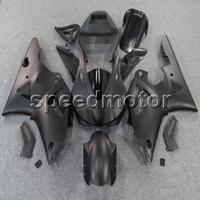 ingrosso yamaha yzf custom-Custom + Viti Opaco nero lucido YZFR1 98-99 YZF-R1 1998 1999 Articolo di carenatura in ABS per Yamaha