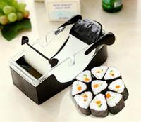 küchenzubehör sushi roller großhandel-Diy Sushi Roller Magic Roll Sushi Formen Maker Cutter Rollen Rolls Werkzeug Haushalt Perfekte Roll-Sushi Küche Zubehör 4.7wy gg