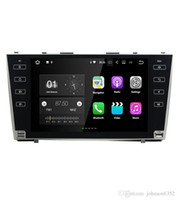 Wholesale Car Dvd Tv Gps Camry - Full touch button 4G network Android 7.1 2G car gps navigation for Toyota camry 2008 2009 2010 2011 car dvd player car stereo radio gps