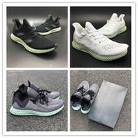 ingrosso scarpe da ginnastica-New AlphaEdge 4D LTD Tecnologia di stampa Scarpe da corsa Ash Green Nero Bianco Uomo Fashion Designer Sneakers Scarpe sportive con scatola