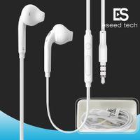 förderung für kopfhörer großhandel-Premium Stereo Qualität Factory Promotion Für Samsung S7 S6 S6 Rand Kopfhörer Ohrhörer Headset Kopfhörer 3,5 mm Box Verpackung (Weiß) EO-EG920LW