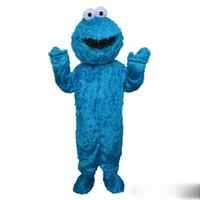 fazer mascote venda por atacado-2018 marca new Mascot professional Make elmo mascot costume adulto tamanho elmo mascot costume frete grátis