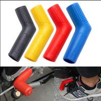 étuis à chaussures achat en gros de-Couvercle de levier de vitesse en caoutchouc pour moto Sock Gear Shifter Boot Protège-étuis de protection couvre Couvre Sportbike Dirt Bike 150pcs GGA79
