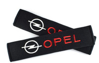 Wholesale opel accessories - Seat Belt Cover Car Styling Pure Cotton Case For Opel Astra H G J Insignia Mokka Zafira Corsa Vectra C D Accessories Car-Styling