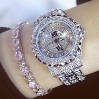 водостойкие серебряные часы оптовых-30-метровые водонепроницаемые кварцевые наручные часы из нержавеющей стали (золото, серебро)