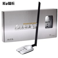 Wholesale high network - AWUS036NH LUXURY ALFA Adapter Network Ralink3070L 2.4Ghz High Power Wireless USB Wifi Adapter 2*8dBi Antenna With Long Range