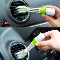 Wholesale brush outlet - Keyboard Clean Seat Gap Car Air Outlet Vent Brush Dust Cleaning Tools Internal Cleaner Interior Accessories Cleaning Brush
