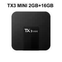 Wholesale google iptv box for sale - Group buy 16pcs Original TX3 mini Android TV Box Amlogic S905W GB GB Support IPTV HDMI K Streaming Media Player
