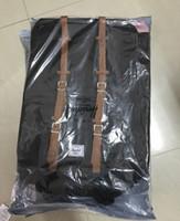 pakete großhandel-2018 Outdoors Rucksäcke Fashion Rucksack Computer Paket Big Canvas + Nylon Handtasche Reisetasche SportOutdoor Packs Laptop Tasche