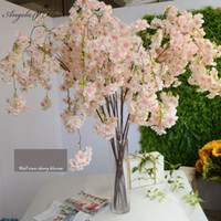 blossoms flower shop NZ - Big136cm artificial cherry blossom vines oriental simulation home wedding garden party shop Decor luxurious cherry fake flores