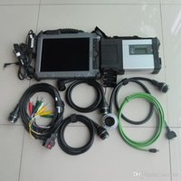 Wholesale tablet software repair resale online - for mb star sd connect compact c5 with ssd with ix104 i7 g Industrial Rugged Tablet diagnostic laptop