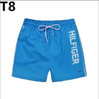 schneller sport großhandel-Summer Vile Brand Turtle Gedruckte Herren Strand Boardshorts Bermuda Herren Badebekleidung Boardshorts Quick Dry Sport Boxer Trunks Shorts Badeanzüge