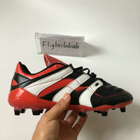 Wholesale Predator Accelerator Electricity David Beckham Soccer Cleats Mens Soccer Shoes Football Boots