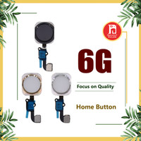 Wholesale iphone home button ribbon - Home Button Ribbon Flex Cable Silver Gold Black Main Menu Key Complete Full Assembly For iPhone 6 6G 4.7inch 4.7""