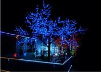 mavi ışık güneş bahçe lambaları led toptan satış-8 modları Güneş Noel Işıkları 200 LED Güneş Peri Dize Işıklar Açık Bahçe Düğün için Mavi Renk ile Led Solar Lamba
