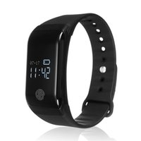 Wholesale Heart Rate Calorie Monitor - 2018 Original Smart Bracelet Heart Rate Blood Pressure Blood Oxygen Monitor Bluetooth Calorie Step Waterproof Smart Wristband Bracelet
