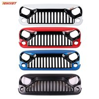 Wholesale Hot Sale High Strength Black ABS Racing Grille For Wrangler JK