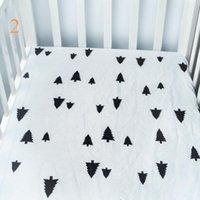 ingrosso letti per neonati per bambini-Lenzuolo per bambini basso standard con materassini per neonati e bambine, lenzuola e federe a grandezza naturale