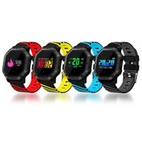 Wholesale wireless smart watches resale online - K5 Wireless Bluetooth Smart Watch Pedometer Fitness Tracker IP68 Waterproof Sports Watch with Retail Box