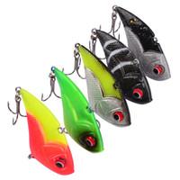Wholesale 5cm vib online - 5 color cm g VIB Leads Hook Fishing Hooks Fishhooks Hook Soft Baits Lures Artificial Bait Pesca Fishing Tackle