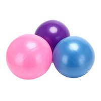 ingrosso palla di allenatore di equilibrio-3 colori per il fitness Appliance25cm Mini Yoga Ball Pilates Physical Fitness Ball Balance Balance Home Trainer Balance