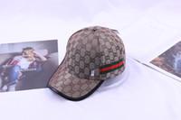 mejores marcas americanas al por mayor-Venta caliente estilo europeo y americano sombrero de la marca de béisbol de la mejor calidad mejor sombrero de sol de moda sombrero nuevo sombrero al aire libre del estilo de alta calidad