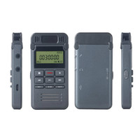 Wholesale 4gb mp3 player record resale online - Portable Metal HD Noise Reduction Digital voice recorder GB mini Dictaphone Telephone Recording with MP3 Player supporting A B Repeat