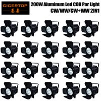 Wholesale discounts led light bulbs for sale - Group buy Discount Price Pack Stage Lights COB Par LED W Cold and Warm White Wash of Portable for Party Pub Theatre Danceing DJ Festival Holiday