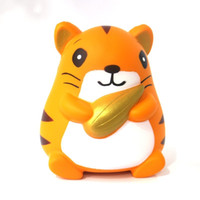 Wholesale photos animal online - Animal Shape Squishy Squeeze Toy Kawaii Hamster Squishies Slowly Rising Decompression Toys Photography Take Photo Props ge W