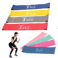 Wholesale resistance workouts - Ne Elastic Band Tension Resistance Band Yoga Exercise Workout Ruber Fitness Loop Crossfit Strength Pilates Training Expander Equipment