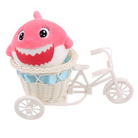 Wholesale furry toys online - 2018 New Furry Squishies Adorable Shark Foamed Stuffed Slow Rising Squeeze Keychain Toy squishy Cartoon squish toys squeeze Novelty
