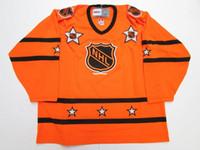 nhl jersey barato al por mayor-Barato custom 1973-78 1980-81 NHL ALL STAR GAME VINTAGE CCM NARANJA HOCKEY JERSEY jerseys de bordado de color naranja