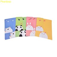 Wholesale Stationery Letter Paper Set - Wholesale- Peerless 6 sheets letter paper Animals Collection Letter Pad Paper With Enveloper+3 pcs envelopes set writing paper Stationery