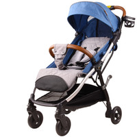 Wholesale poussette stroller resale online - Ultra Lightweight Baby Stroller Folding Baby Trolley Umbrella Bebek Arabasi Poussette Can Sit Can Lie Portable On the Airplane