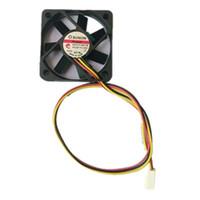 ventiladores de enfriamiento 12v cables al por mayor-SUNON 5CM ME5010V1-000C-G99 5010 12V 1.32W Ventilador de 3 alambres Sistema de velocidad Middel Ventilador de placa base de ventilador
