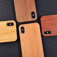 Wholesale galaxy best price for sale - Best Price Shockproof Wood Case For iphone X PLUS s Cell phone Cover TPU Wooden Case Back Cover For Samsung Galaxy S9 S8 S7 S6 edge