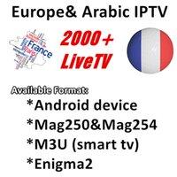 sport tv ao vivo venda por atacado-iproTV IPTV assinatura de 1 ano com 2100+ TV ao vivo e VOD francês árabe Itália Reino Unido Gemany Europe iptv esportes livres smart tv