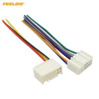 wholesale car radio wiring harness adapter for sale - feeldo car radio audio  power wire harness