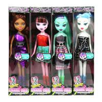 Wholesale children classic movies - OCDAY 4 Types Cartoon Wizard Dolls Movie & TV Theme Fashion Kids Toy Dolls Chirstmas Children Gift for Girls 22cm Hot Sale