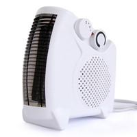 secadora de aire al por mayor-Mini Calentador de aire caliente eléctrico Calentador de aire eléctrico Calentador de ventilador de la habitación Secador de ropa Protección contra sobrecalentamiento 001 3pcs