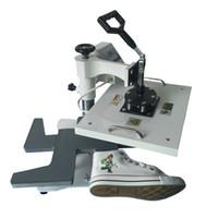 hitzepressemaschine drucker großhandel-Digital-Schuh-Hitze-Presse-Maschine, Schuh-Sublimations-Wärmeübertragung bearbeitet Schuhlogodrucker