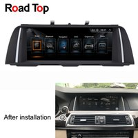 "Wholesale bmw touch screen car radio - 10.25"" Android Car Radio Bluetooth GPS Navigation Screen Monitor for BMW F10 F11 520i 523i 528i 530i 535i 550i M5 518d 520d 525d 530d 535d"