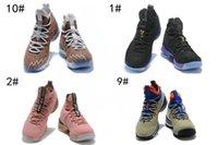 2018 nouveau LEBRON XV 15 FRUITY PEBBLES MULTI-COULEUR   BLANC chaussures  de basket-ball de haute qualité James 15s LB espadrilles de sport aérien  pour ... a30dd203f