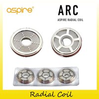 Wholesale arc kit - Authentic Aspire Radial Coil Head 0.1ohm - 0.16ohm Replacement ARC Coils For Original Revvo Tank Skystar Kits 100% Genuine 2210093