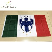 Wholesale Mexico Gifts - Mexico Liga Monterrey FC 3*5ft (90cm*150cm) Polyester flag Banner decoration flying home & garden flag Festive gifts
