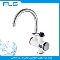 Wholesale Crane Electric - Free Shipping New Arrival Factory Product Wholesale Price For Retail Instant Heat Electric Kitchen Sink Faucet Electric Crane