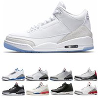 fce5689b Rebajas korea fashion shoes men - Retro Air Jordan 3 Nike AJ3 3s  Internacional de vuelo