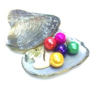 Wholesale 14mm freshwater pearls - New Product 5 Grain Potato Pearls 10-14mm Natural FreshPearl in Freshwater Oyster Shell with vacuum packed DIY Jewelry For Women party