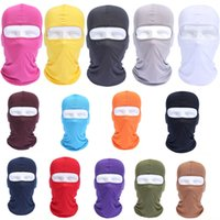 Wholesale pink balaclavas - 14 Styles Cycling Motorcycle Headgear Windproof Outdoor Sunscreen Breathable Balaclava Mask Multifunction Full Face Mask Men Free DHL H514F