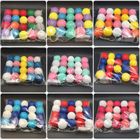 bolas de algodão leve venda por atacado-10 20 30 Luzes Da Corda do globo Bateria LED Garland Luzes Quente Branco Tailandês LED Bola de Algodão Luz Cadeia Luzes de Natal Do Partido